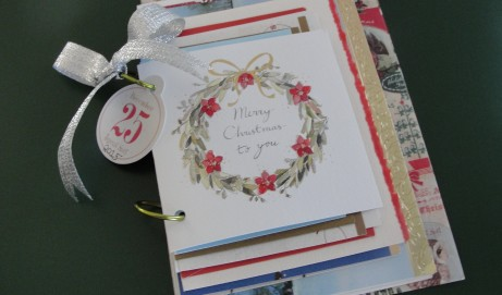What to do with Those Christmas Cards – A Quick and Easy Christmas Card Journal
